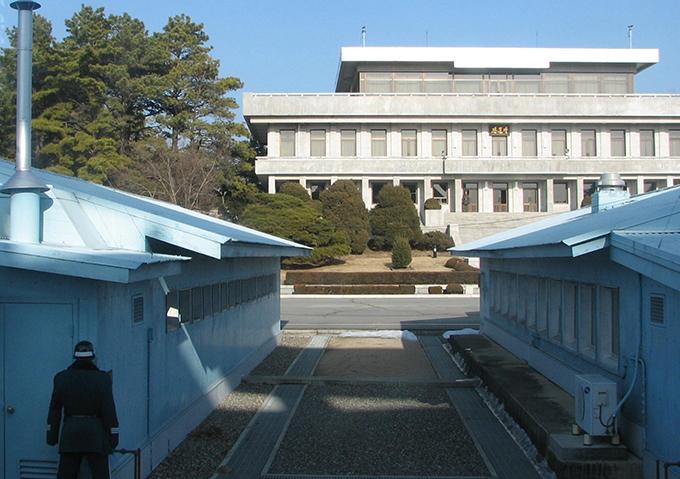 板門店 軍事境界線 韓国