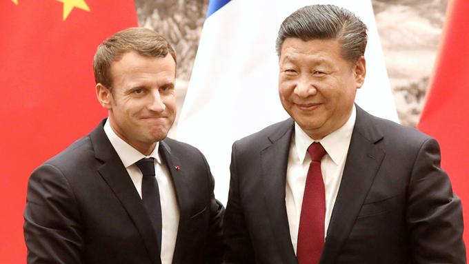 仏マクロン大統領が中国訪問~「一路一帯」支持の真意とは?