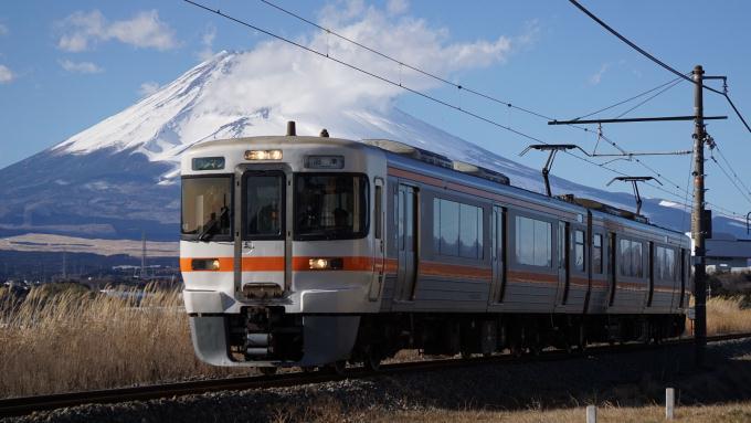 313系 電車 御殿場線 岩波 裾野