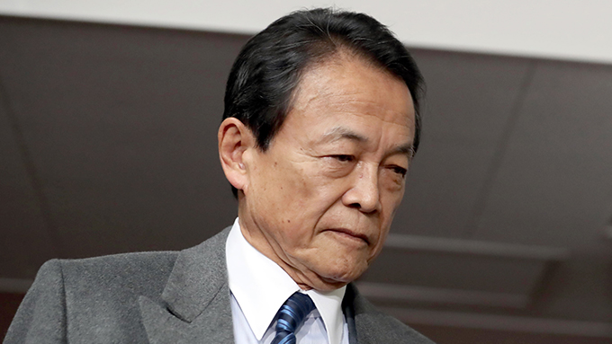 森友文書改ざん問題~それでも安倍首相が麻生氏を守る理由