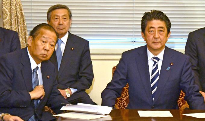 政高党低~自民党内の動きのカギを握っているのは二階幹事長