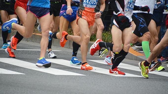 マラソンのスタート地点はあんなにごった返してて大丈夫なの?