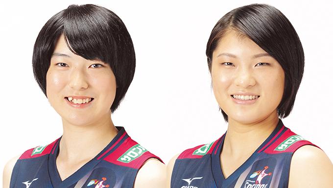 田浦優歌選手と濵松明日香選手は2人で永遠にボケまくる!? 久光製薬スプリングス