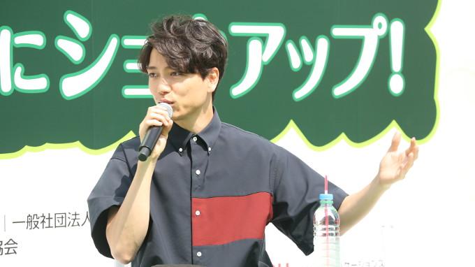 山崎育三郎のさわやかトークが日比谷公園の青空に【ラジオパーク情報】