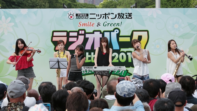アイドルステージにChuning Candy、OBP、C;ON登場【ラジオパーク情報】