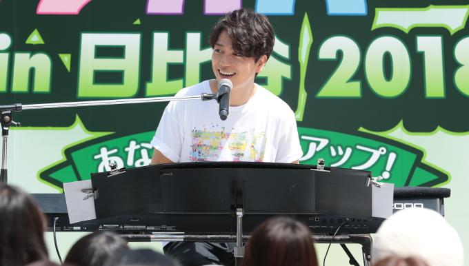 山崎育三郎のライブで会場と一緒に歌うシーンも【ラジオパーク情報】