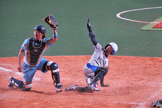 SGH ソフトボール 田中 選手 ランニングホームラン