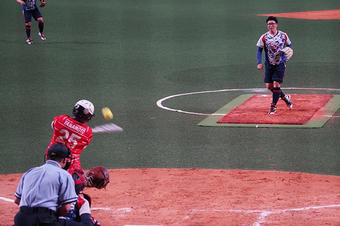太陽誘電 ピッチャー 4番 二刀流 藤田 投手 首位打者 ビックカメラ 高崎 山本 選手