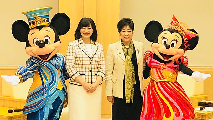 #TOKYO2020 ミッキーから「おもてなし」を考える