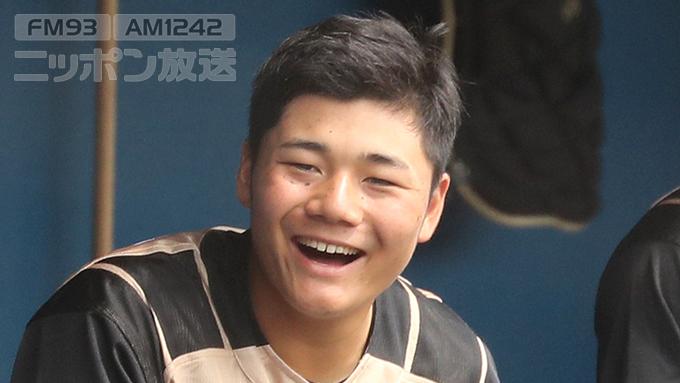 日本ハム・清宮 本日、ファーストでスタメン出場か
