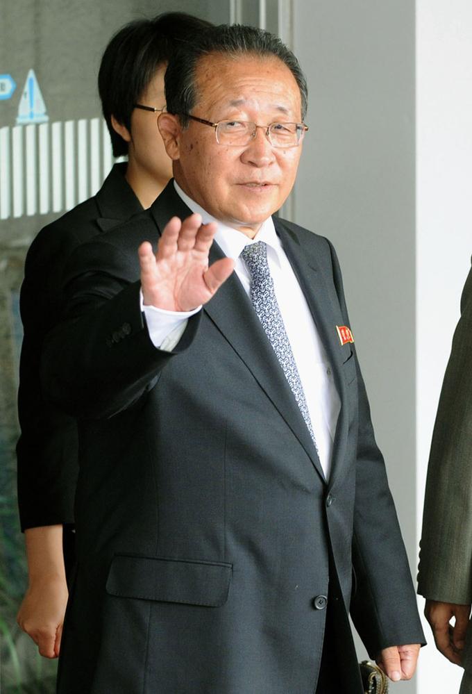 金桂冠 第1外務次官 北朝鮮 北京国際空港