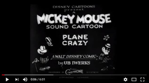 ミッキーマウスは再生の象徴的な存在だった