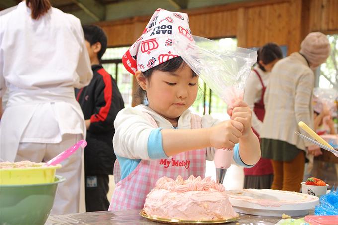ケーキ 作り 教室 母の日 成田 ゆめ牧場