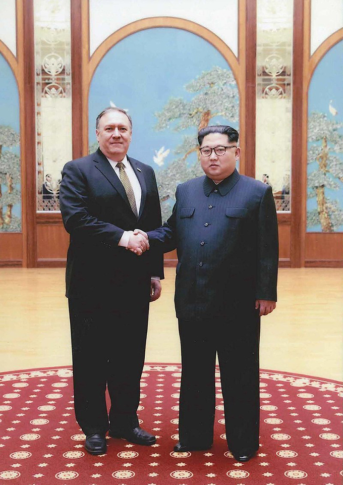 金正恩 朝鮮労働党委員長 マイク ポンペオ
