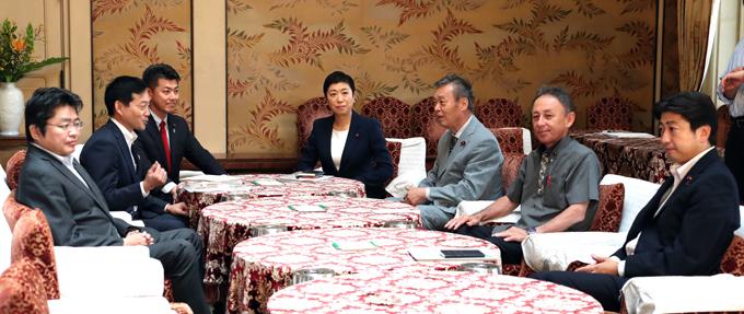 立憲民主党 辻元 清美 野党 国対 委員長 会談