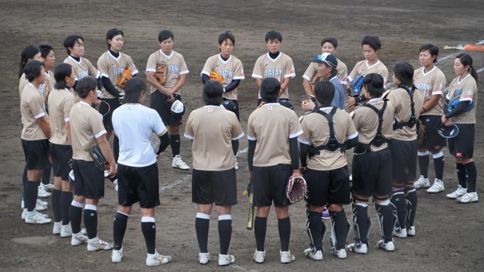 東京オリンピックのプレ大会に向け、ソフトボール女子日本代表が始動!