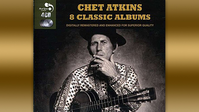 本日はジョージ・ハリスンはじめ、ギタリストの誰もが神と崇めるチェット・アトキンスの誕生日