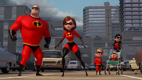 愛すべきヒーロー家族が帰ってきた!「インクレディブル・ファミリー」