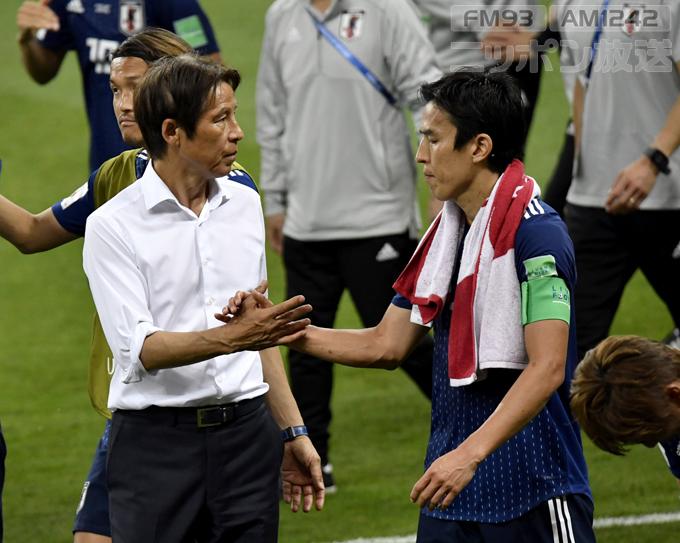 サッカー ロシア W杯 2018 長谷部 誠 西野 朗 監督