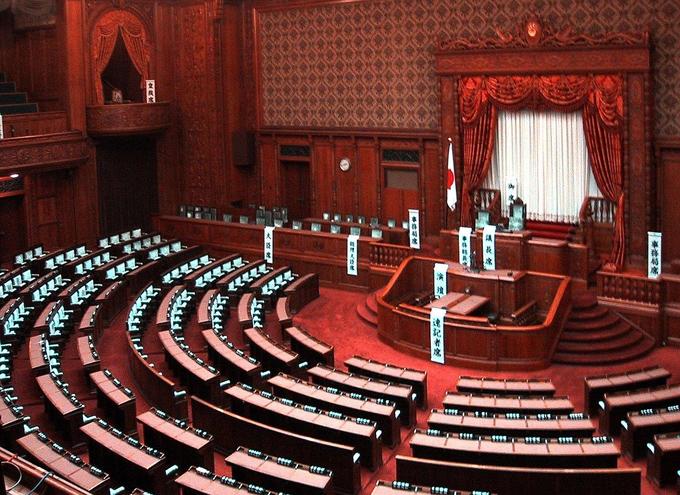 国会議事堂 参議院 国会