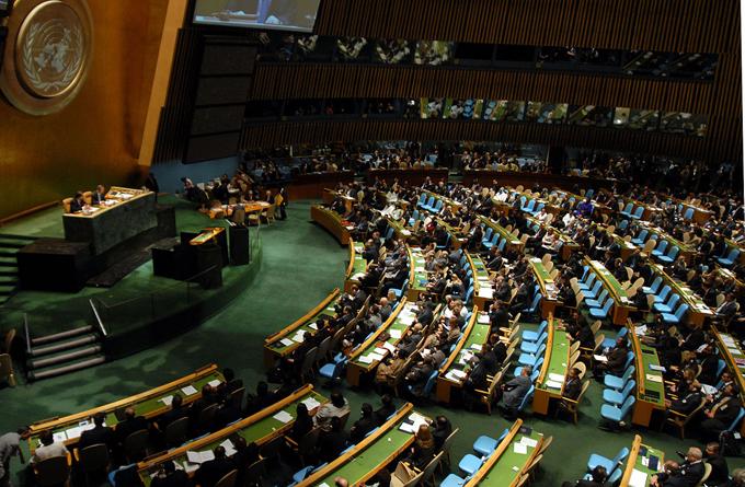国連 総会議事堂 国際連合