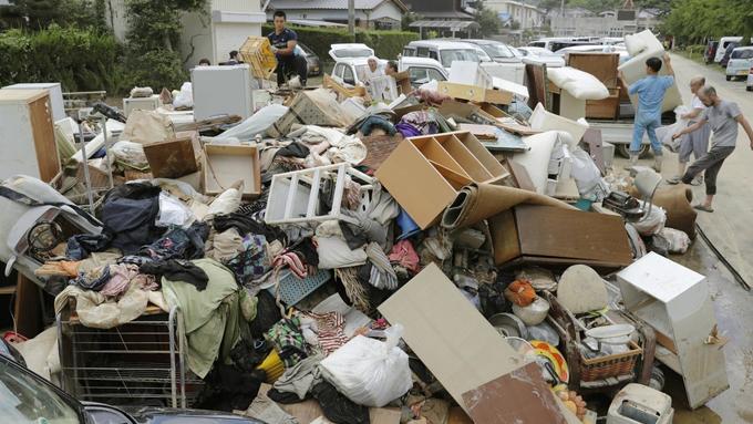 西日本豪雨~愛媛県大洲市・西予市野村町の肱川が氾濫した地域の現状