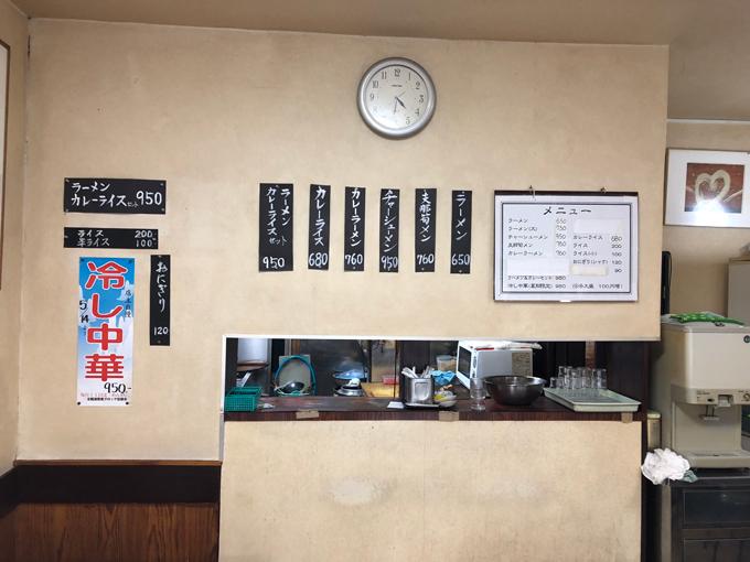 神田多町 多町大通り 栄屋 ミルクホール メニュー