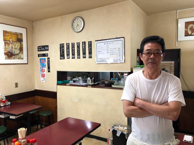 神田多町 多町大通り 栄屋 ミルクホール 二代目 主人 高橋 栄治