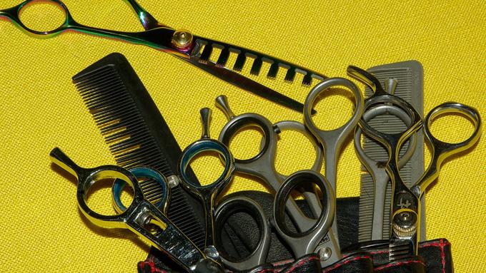 美容師さんが使っているハサミ『シザー』の多彩な種類
