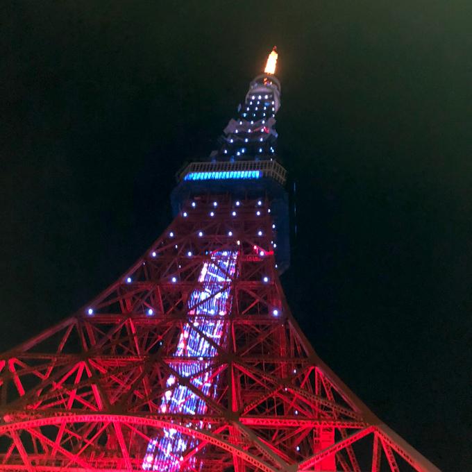 予選 リーグ 第2戦目 青 東京タワー