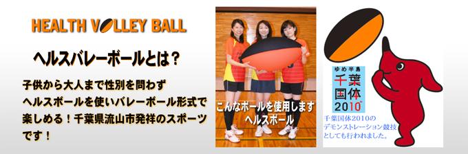 日本 ヘルスバレーボール 連盟 流山 本部