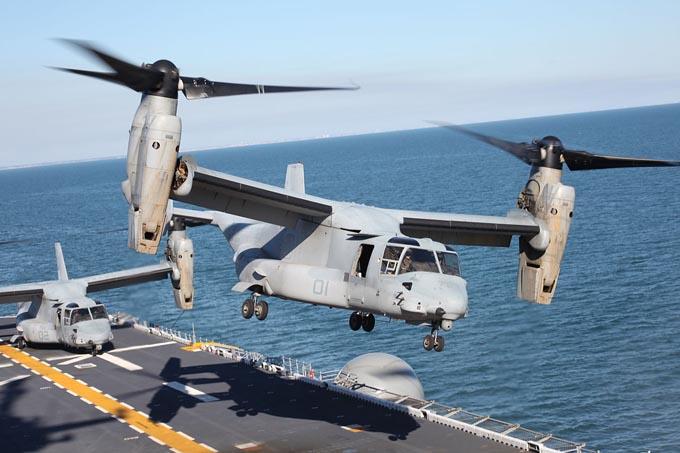 キアサージ 海兵隊所属 MV-22 V-22 航空機 オスプレイ