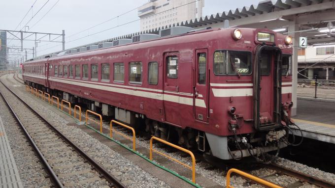 キハ58形 気動車 普通列車 越中 八尾行 2010年 八尾