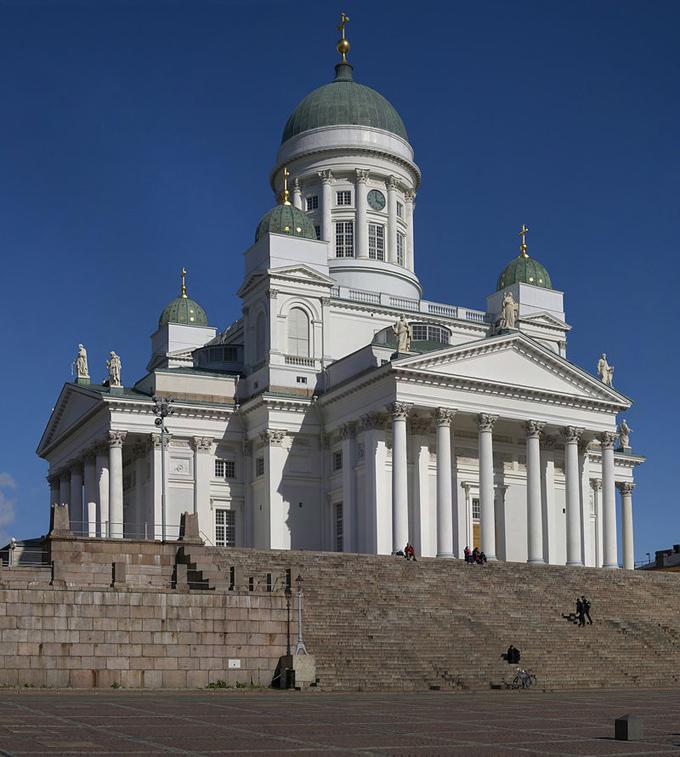 ヘルシンキ ランドマーク ヘルシンキ大聖堂 ロシア 露 プーチン プーチン大統領