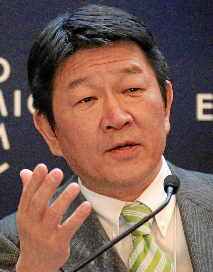 茂木敏充 茂木 敏充 FFR 自民党 日本経済 再生本部長 選挙対策委員長