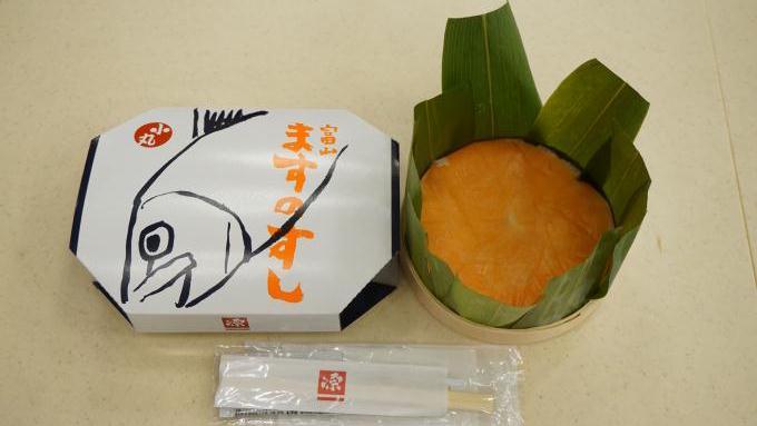 富山駅「ますのすし 小丸」(900円)~駅弁屋さんの厨房ですよ!(vol.11「源」編(5))