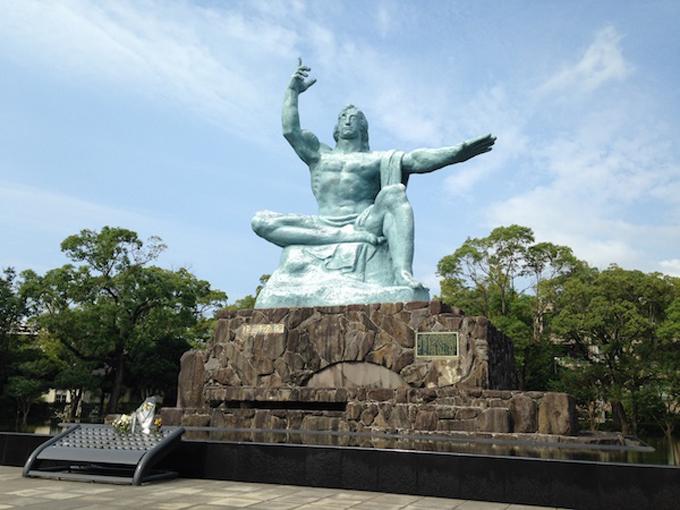平和祈念像 長崎市 長崎 祈念像 原爆 原爆の日 長崎原爆の日