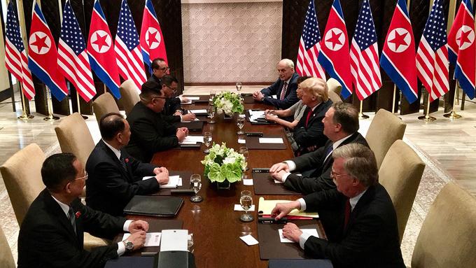 中間選挙前に米朝首脳会談を再現したいトランプ大統領
