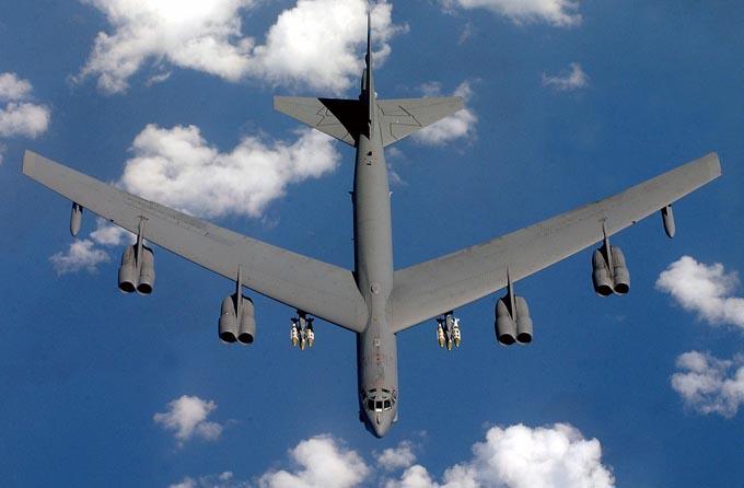 B-52 航空機 国連 国際連合 安保理 トランプ 中国 アメリカ 習近平