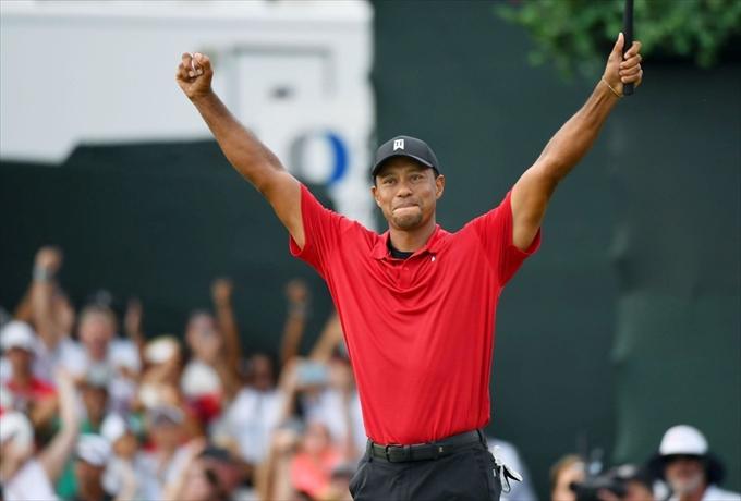 タイガー・ウッズ 5年ぶりの優勝は全米中年男性の励み