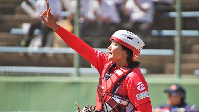 ビックカメラ高崎・我妻悠香選手 「連覇を目指して総合力で頑張る」