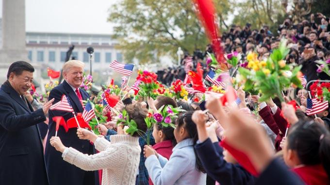 「B52のシナ海上空飛行」発表はトランプ大統領の中国へのメッセージ
