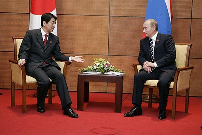日露首脳会談 安倍 安倍総理 プーチン 東方経済フォーラム ロシア 会談 北方領土