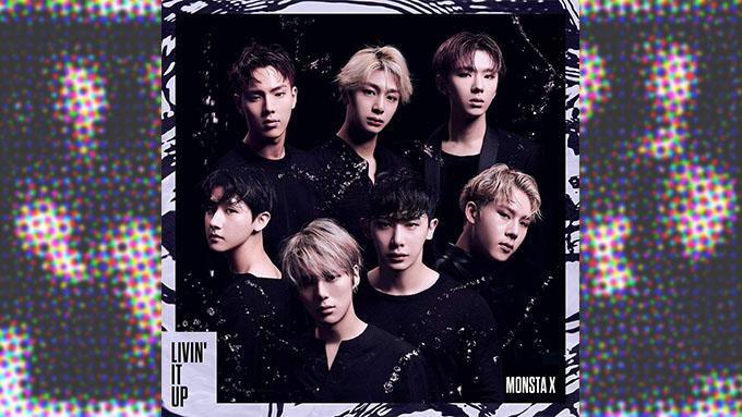 MONSTA XのNewシングル『LIVIN' IT UP』がランキングNo.1