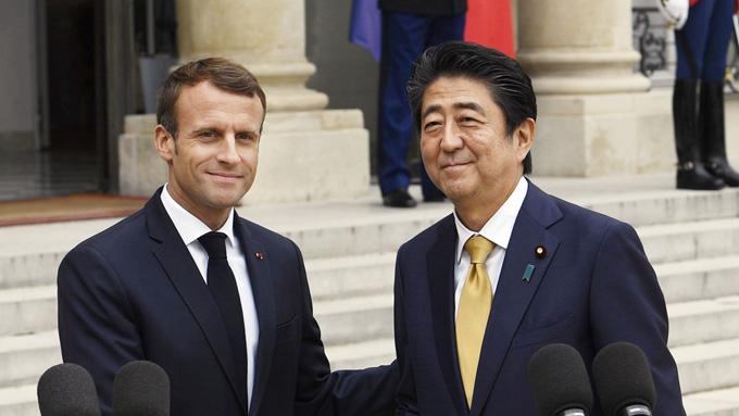 日仏首脳会談~共通認識は「中国にプレッシャーをかけること」