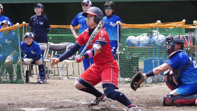 藤田投手は、調子が悪いとかそういう事ではない –太陽誘電・佐藤みなみ選手-