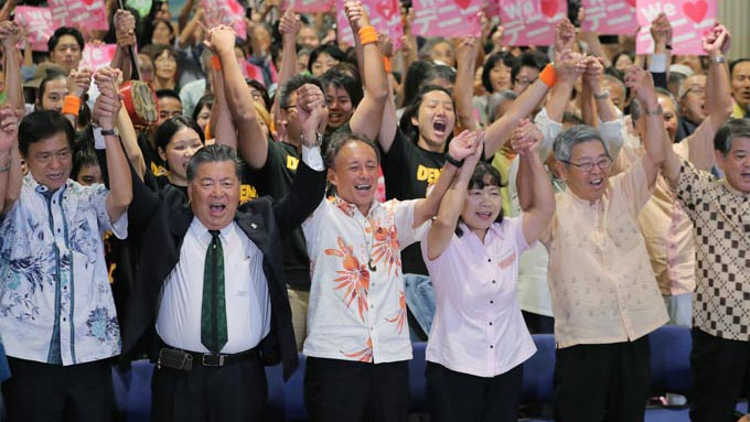 沖縄県知事戦で見えた今後の日本の選挙のあり方