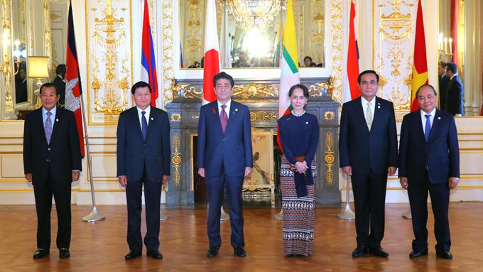 日本と東南アジアの5ヵ国首脳会議~3年前とは異なる中国情勢