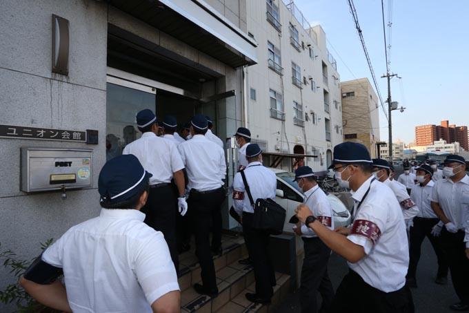 辻元清美 生コン事件 関西 武建一 逮捕 警察 組織犯罪対策課 組対課 暴力団