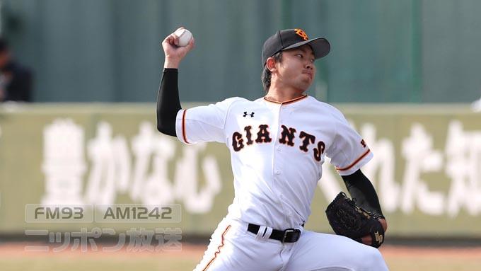 巨人・高田 ファームで杉内が驚いた「松坂2世」の投球
